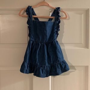 Cat & jack denim dress size 18 months